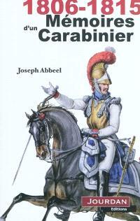 Mémoires d'un carabinier : 1806-1815
