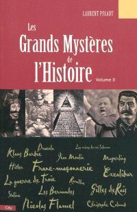 Les grands mystères de l'histoire. Volume 2