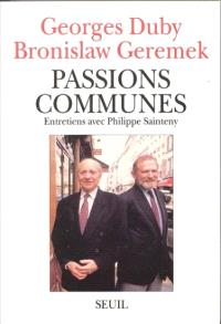 Passions communes : entretiens