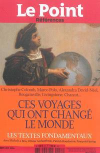 Point (Le) : références. n° 53, Ces voyages qui ont changé le monde