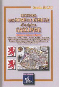 Histoire des noms de famille d'origine gasconne (d'après une étude sur la Bigorre)