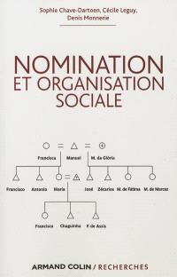 Nomination et organisation sociale