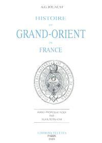 Histoire du Grand Orient de France