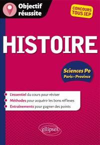Histoire, Sciences Po Paris-province : concours tous IEP