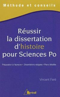 Réussir la dissertation d'histoire pour Sciences Po : méthode et conseils