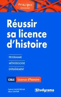 Réussir sa licence d'histoire : programme, méthodologie, entraînement