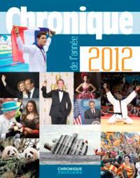 Chronique de l'année 2012