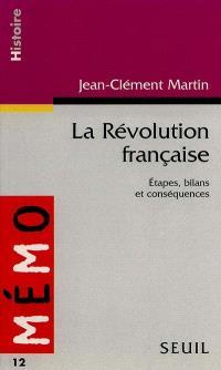 La Révolution française : étapes, bilans et conséquences