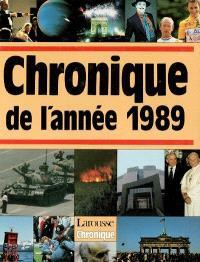 Chronique de l'année 1989