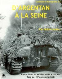 D'Argentan à la Seine : le bataillon de Panther de la 9e Panzerdivision face au XVth US corps
