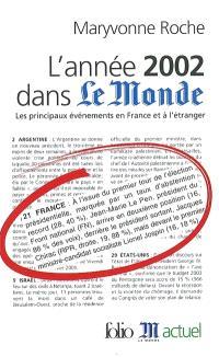 L'année 2002 dans Le Monde : les principaux événements en France et à l'étranger