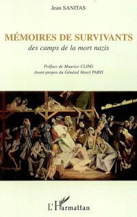 Mémoires de survivants : des camps de la mort nazis