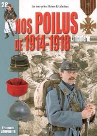 Nos poilus de 1914-1918 : l'infanterie : août 1914-novembre 1918
