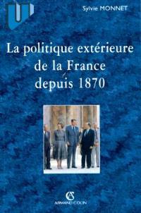Politique extérieure de la France depuis 1870