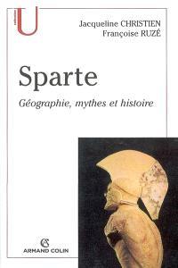 Sparte : géographie, mythes et histoire