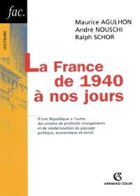 La France de 1940 à nos jours