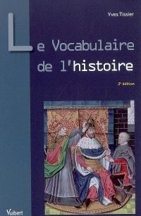 Le vocabulaire de l'histoire