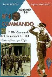 N° 4 commando : 1er BFM Commando du commandant Kieffer
