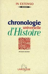 Chronologie universelle d'histoire