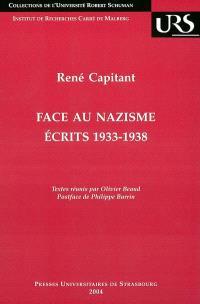 Face au nazisme : écrits 1933-1938