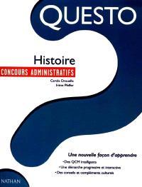 Histoire : concours administratifs