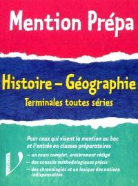 Histoire géographie terminale toutes séries