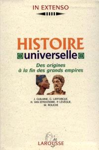 Histoire universelle : de la préhistoire au monde contemporain