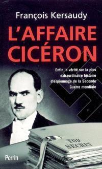 L'affaire Cicéron
