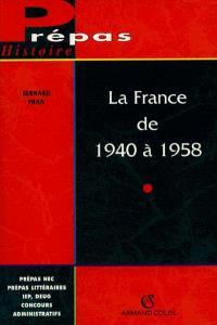 La France de 1940 à 1958 : Vichy et la IVe République