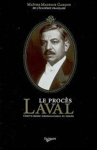 Le procès Laval : compte-rendu sténographique du procès