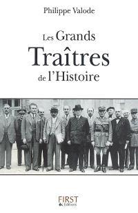 Les grands traîtres de l'histoire
