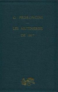 Les mutineries de 1917