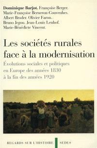 Les sociétés rurales