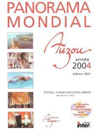 Panorama mondial de l'année 2004