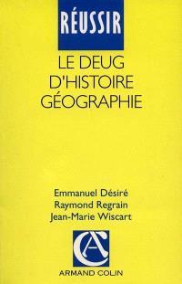 Réussir le DEUG d'histoire géographie