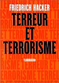 Terreur et terrorisme