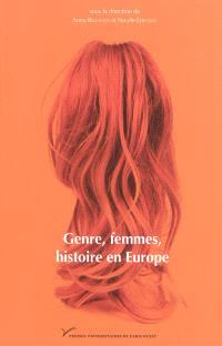 Genre, femmes, histoire en Europe : France, Italie, Espagne, Autriche