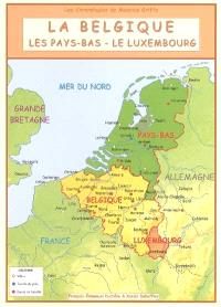 La Belgique, les Pays-Bas, le Luxembourg