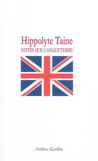 Notes sur l'Angleterre