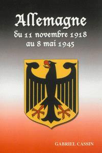 Allemagne : du 11 novembre 1918 au 8 mai 1945