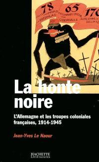 La honte noire : l'Allemagne et les troupes coloniales françaises, 1914-1945