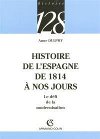Histoire de l'Espagne de 1814 à nos jours