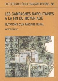 Les campagnes napolitaines à la fin du Moyen Age : mutations d'un paysage rural