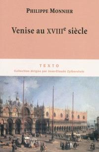Venise au XVIIIe siècle
