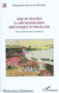 Asie du Sud-Est : la décolonisation britannique et française : étude comparative