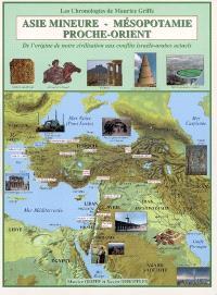 Asie mineure, Mésopotamie, Proche-Orient : de l'origine de notre civilisation aux conflits israélo-arabes actuels