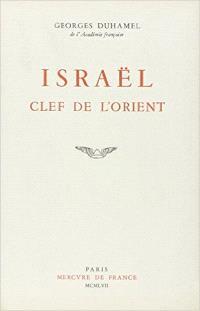 Israel, clef de l'Orient