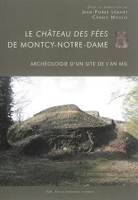 Le château des fées de Montcy-Notre-Dame : archéologie d'un  site de l'an mil