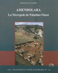 Amendolara : la nécropole de Paladino Ouest