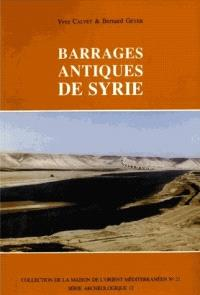 Barrages antiques de Syrie